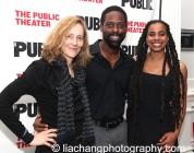 Jo Bonney, Sterling K. Brown and Suzan-Lori Parks. Photo by Lia Chang