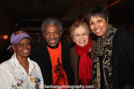 Kathy Williams, André De Shields, Betty with her daughter Kim Brockington. Photo by Lia Chang
