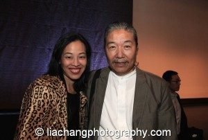 Lia Chang and Yang Chihung at the New-York Historical Society in New York on October 2, 2014. Photo by Ai Young Choi