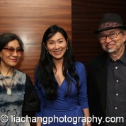 Nina Kuo, Dr. Agnes Hsu-Tang and Lorin Roser at the New-York Historical Society in New York on October 2, 2014. Photo by Lia Chang