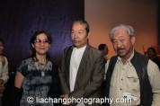 Nina Kuo, Yang Chihung and Bob Lee at the New-York Historical Society in New York on October 2, 2014. Photo by Lia Chang