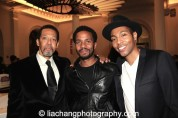 Peter Jay Fernandez, Andre Holland and Jeremie Harris. Photo by Lia Chang
