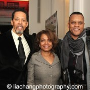 Peter Jay Fernandez, Denise Burse and Kevin Mambo. Photo by Lia Chang