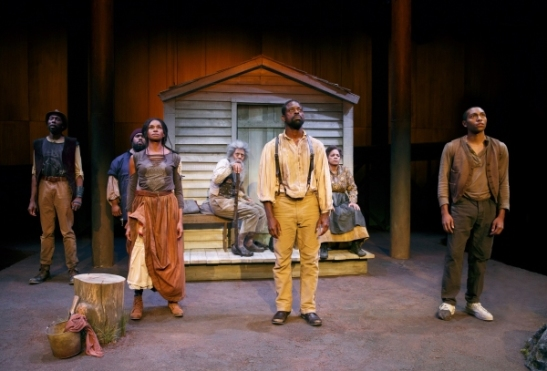 The company of Father Comes Home from the Wars (Parts 1, 2 & 3). Photo by Joan Marcus