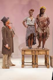 Danny Wolohan, Marsha Stephanie Blake, Jocelyn Bioh (L-R) in An Octoroon at Soho Rep. Photo: Pavel Antonov