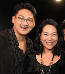 Timothy Huang and Christine Toy Johnson. Photo by Lia Chang