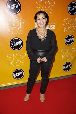 Seema Sueko at the Opening Night of STOP KISS at The Pasadena Playhouse on November 9, 2014. Photography By Earl E. Gibson III.