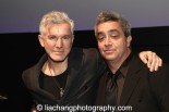 (L-R) Baz Luhrmann and Stephen Adly Guirgis attend the 2014 Steinberg Playwright Awards hosted by the Harold and Mimi Steinberg Charitable Trust on November 17, 2014 in New York City. Photo by Lia Chang