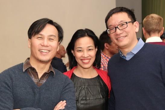 BD Wong, Lia Chang and Robert Lee. Photo by GK