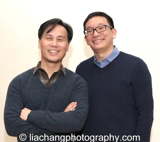 BD Wong and Robert Lee. Photo by Lia Chang