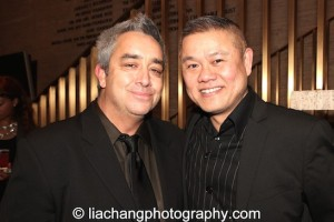 (L-R) Playwright Stephen Adly Guirgis and Victory Gardens Artistic Director Chay  attend the 2014 Steinberg Playwright Awards hosted by the Harold and Mimi Steinberg Charitable Trust on November 17, 2014 in New York City. Photo by Lia Chang