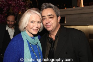 (L-R) Ellen Burstyn and Stephen Adly Guirgis attend the 2014 Steinberg Playwright Awards hosted by the Harold and Mimi Steinberg Charitable Trust on November 17, 2014 in New York City. Photo by Lia Chang
