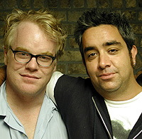 The late Philip Seymour Hoffman and Stephen Adly Guirgis.