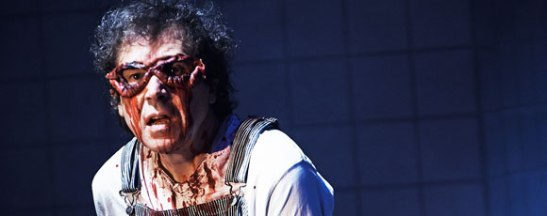 Stephen Rea in A PARTICLE OF DREAD (OEDIPUS VARIATIONS) by Sam Shepard. Photo by Ros Kavanagh