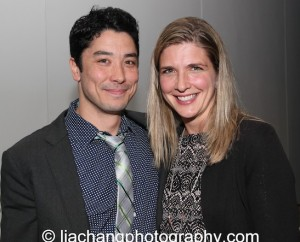 Jame Yaegashi and his wife Tami attend the 2014 Steinberg Playwright Awards hosted by the Harold and Mimi Steinberg Charitable Trust on November 17, 2014 in New York City. Photo by Lia Chang