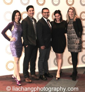 Lia Chang, James Yaegashi, Victor Maog, Nikki Chalas, Tami Yaegashi attend the 2014 Steinberg Playwright Awards hosted by the Harold and Mimi Steinberg Charitable Trust on November 17, 2014 in New York City. Photo by GK