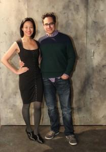 Lia Chang and Rajiv Joseph. Photo by GK