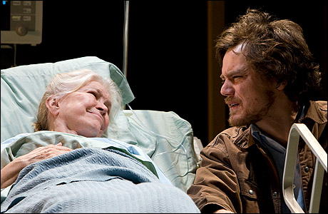 Ellen Burstyn and Michael Shannon in The Little Flower of East Orange. Photo by Monique Carboni