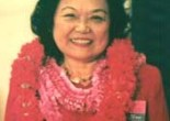 Congresswoman Patsy Mink. Photo by Lia Chang