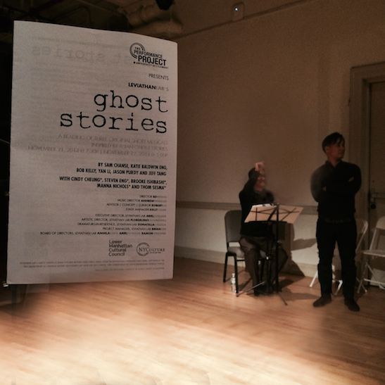 Ghost Stories curator Robert Lee and director BD Wong. Photo by Lia Chang