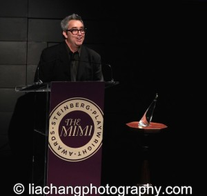 2014 Steinberg Distinguished Playwright recipient Stephen Adly Guirgis at the 2014 Steinberg Playwright Awards hosted by the Harold and Mimi Steinberg Charitable Trust on November 17, 2014 in New York City. Photo by Lia Chang