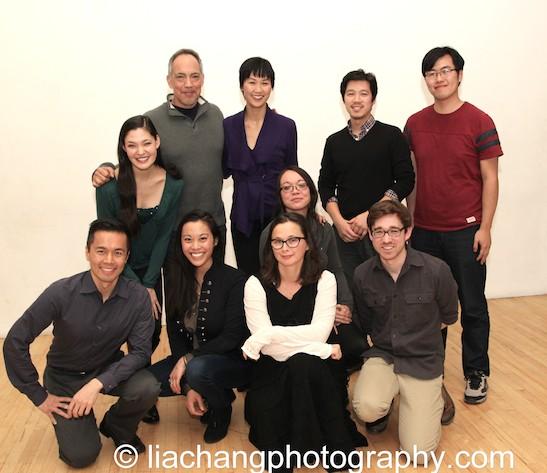 Top Row: Thom Sesma, Cindy Cheung, Jeff Tang, Yan Li; Second Row: Manna Nichols, Sam Chanse; Bottom Row: Steven Eng, Brooke Ishibashi, Katie Baldwin Eng, Bob Kelly. Photo by Lia Chang