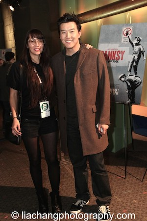 9-Man filmmaker Ursula Liang with Brian Yang at the DOC NYC Festival at SVA Theater in New York on November 15, 2014. Photo by Lia Chang9-Man filmmaker Ursula Liang with Brian Yang at the DOC NYC Festival at SVA Theater in New York on November 15, 2014. Photo by Lia Chang
