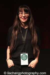 9-Man filmmaker Ursula Liang at the DOC NYC Festival at SVA Theater in New York on November 15, 2014. Photo by Lia Chang