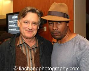 Sticks and Bones cast members Bill Pullman and Morocco Omari. Photo by Lia Chang