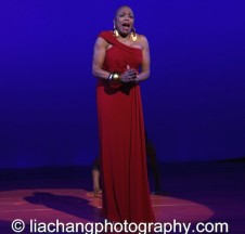 A Celebration of the 40th Anniversary of The Wiz at the BC/EFA's Gypsy of the Year featured Dee Dee Bridgewater at The New Amsterdam Theatre in New York on December 9, 2014. Photo by Lia Chang