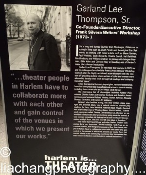 Harlem is…Theater honoree Garland Lee Thompson Sr. Photo by Lia Chang