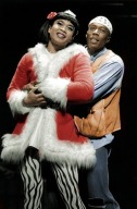 Jose Llana and Michael McElroy in Rent. Photo by Fiyero