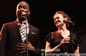 John Dokes and Hilary Gardner. Photo by Lia Chang