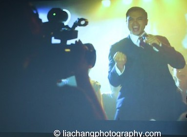 Jose Llana as Ferdinand Marcos in Here Lies Love.