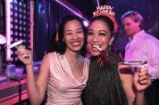 Lia Chang and Jaygee Macapugay. Photo by Diane Phelan