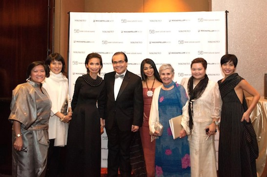 Philippine Consul General Mario L. de Leon Jr. attended the 50th Anniversary Benefit Gala of the Asian Cultural Council (ACC) held at the Mandarin Oriental Hotel in New York City on November 18, 2014 where top Fil-Am fashion designer Josie Cruz Natori, founder and CEO of Natori Company, was one of two 50th Anniversary Honorees. Photo courtesy of Philippine Consulate General in New York