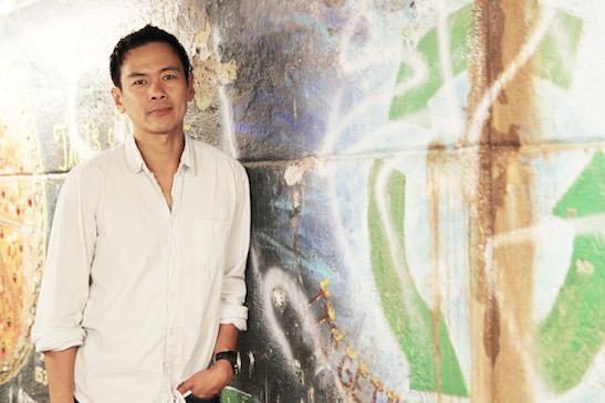 Joel de la Fuente. Photo by Lia Chang
