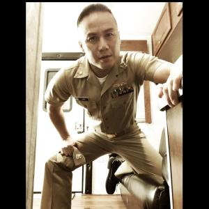 BD Wong guest stars as Navy Lieutenant Commander Dr. Gabriel Lin on NCIS New Orleans. Photo courtesy of BD Wong
