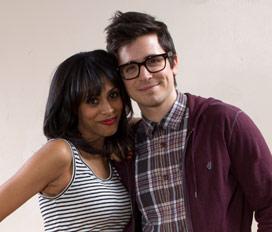 Nicolette Robinson and Matt Doyle. Photo courtesy of Brooklynite/Vineyard Theatre