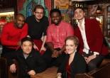 Duwende- Derrick L. Hicks, Edward Chung, David Lane, J. Aaron Boykin, Abbey Janes and Tomas Cruz. Photo by Lia Chang