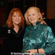 Jacqueline Davis and Susan Stockton, 2015 ISPA Patrick Hayes Award recipient at the 2015 ISPA Congress Awards Dinner at Guastavino's in New York on January 14, 2015. Photo by Lia Chang