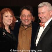 Jacqueline Davis, Graham Sheffield, 2015 ISPA International Citation of Merit Award recipient and Tim Brinkman at the 2015 ISPA Congress Awards Dinner at Guastavino's in New York on January 14, 2015. Photo by Lia Chang