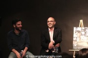 Josh Radnor and DISGRACED playwright Ayad Akhtar at a book talk at The Drama Book Shop in New York on January 22, 2015. Photo by Lia Chang