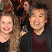 Susan Stockton receives the 2015 ISPA Patrick Hayes Award at the 2015 ISPA Congress Awards Dinner at Gustavino's in New York on January 14, 2015. Photo by Lia Chang