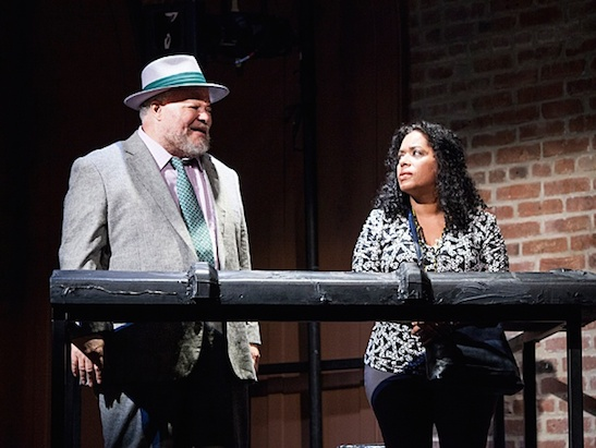 Stephen McKinley Henderson and Liza Colón-Zayas. Photo by Kevin Thomas Garcia
