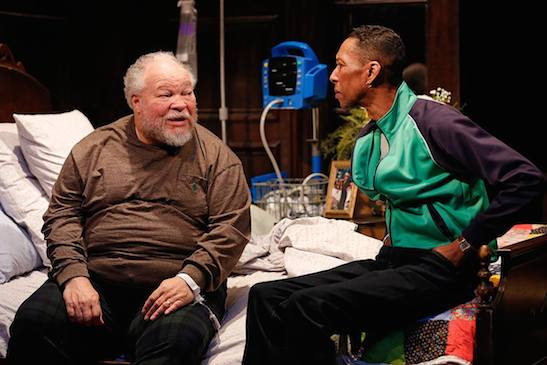 Stephen McKinley Henderson and Ron Cephas Jones. ©2015, Carol Rosegg