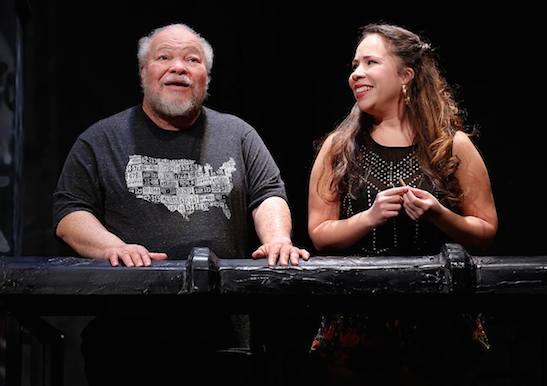 Stephen McKinley Henderson and Rosal Colón. ©2015, Carol Rosegg