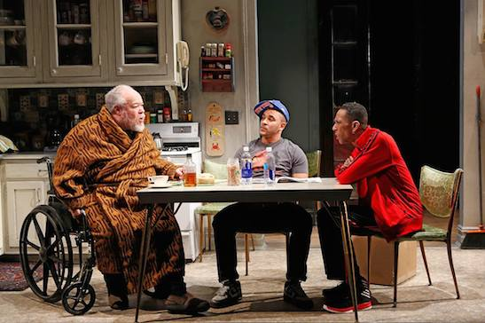Stephen McKinley Henderson, Victor Almanzar, Ron Cephas Jones. ©2015, Carol Rosegg