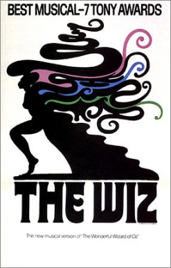 The Original Poster of the Broadway production of The Wiz.