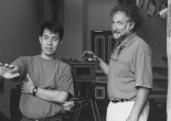 Filmmaker Arthur Dong and cinematographer Stephen Lighthill. Photo by Zand Gee